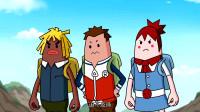 搞笑吃鸡动画:四人组实验新研发的战术,没想到萌妹还是与众不同的那个