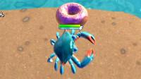 肉肉 螃蟹王游戏06有个甜甜圈