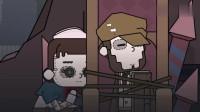 搞笑吃鸡动画:园丁拆东西上瘾拆厂长娃娃,这不,恰好被呆鸡撞见!