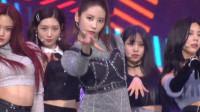 女团DIA回归韩秀榜首秀,复古魅力满满,秒变大型蹦迪现场