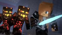 我的世界:队友都被石化!怎样解救他们呢?