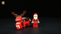 积木搭建:记乐积木20064F圣诞麋鹿