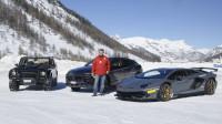 超级跑车、SUV、历史重磅车型一次嗨个够 此地无垠冰雪试驾兰博基尼