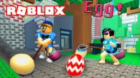 Roblox变蛋捕猎计:超能力赏金猎人,臭蛋不敢靠近!宝妈趣玩