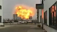 江苏盐城一化工园区内发生爆炸 火球冲上天 消防已赶赴现场