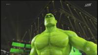 巨石强森大战绿巨人!WWE2K19