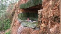 荒野生存 原始技能 建造地下竹制游泳池和房子