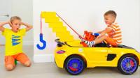 萌娃乐园:萌娃的新玩具挂钩,用它来帮妈妈和弟弟解决困难