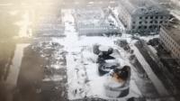 今晨航拍江苏盐城化工厂爆炸现场 火势已被控制