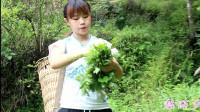 重庆冬妹山上割猪草,演唱的一首《包容》,我都听陶醉了