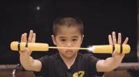 """7岁萌娃被誉为""""李小龙传人"""",40秒打出257拳,李小龙后继有人!"""