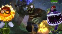 新植物大战僵尸 烟雾蘑菇对战僵尸 植物大战僵尸系列