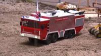 RC遥控消防车活动