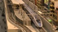 日本高速列车高铁火车模型