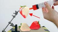 老外为健康去除色素,连草莓都不放过?网友:溢出屏幕的求生欲!