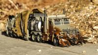 变形金刚电影工作室SS系列SS-34威震天油罐车机器人变形玩具