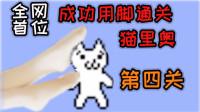 一男子用脚玩猫里奥,为什么最后他还穿上丝袜?