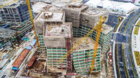 造歪了?日本建筑大师妹岛和世中国首件作品完成结构封顶