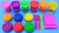培乐多彩泥创意DIY水果冰棒,小朋友学习认识颜色与数字1-10啦
