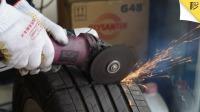 轮胎鼓包一定要换 拆解车胎惊现重大安全隐患