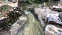 老母鸡带着孩子过河,走着走着,就散了!