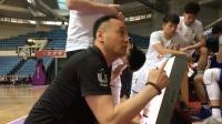北京化工比分领先,教练场边布置战术