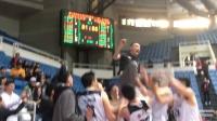 北京化工战胜中民航 球员扔起教练庆祝胜利