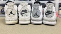 《耘硕说鞋》第88期 Air Jordan 4 白水泥配色 复刻对比