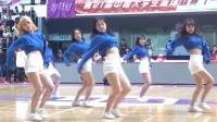 北大VS清华,现场欣赏清华啦啦队的曼妙舞姿
