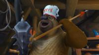 四川方言熊出没:狗熊捡到一刀999的神装?号称要把光头强打成狗!