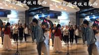 小哥哥演唱河南方言版的《清明上河图》 汉服小姐姐伴舞