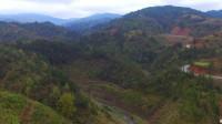 航拍贵州大山里的风光美景,一座座大山,如诗如画