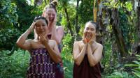 【走吧宝贝】泰国农场一起做泰菜、体验上门spa、传统泰式桑拿、大家抢着帮我带娃