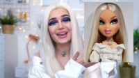 美女化妆神操作,秒变芭比娃娃就是这么简单