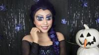 国外女子美妆秀:挑战不同风格的艾莎女王妆容!