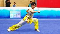 2018年全国青少年武术套路锦标赛 男子拳术 B组长拳 002 唐陈鲲(广西)