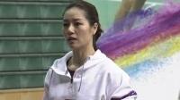 李娜鼓励小球员多接触网球文化