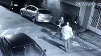 壮汉抢劫遇女警 从开门下车到被打死只用5秒