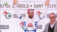 环加泰罗尼亚自行车赛第二赛段  马修斯轻松取胜