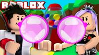 Roblox泡泡糖模拟器!飞跃来到糖果世界?面面解说