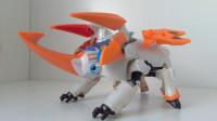 时间穿梭B03DX机械大甲虫-萝卜番外模玩分享时间飞船24