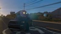 [琴爷GTA5]俩款jeep大切诺基!最强ENB画质GTA5MOD 36