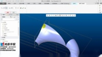 Proe/Creo产品设计·曲面造型·常见四边面补面方法