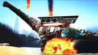 【虾米】方舟:帕格纳西亚EP22,魔法大师-元素泰坦龙!