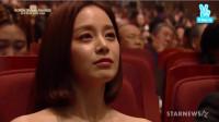 韩国女神超红女演员金泰希参加某颁奖晚会时的登台演出与仪式,非常漂亮