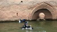 江西水库水位下降,发现神秘佛头,国家文物局两次派人下水!