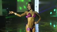甜美可爱的韩国健美小姐,S型身材完美呈现,每一个动作都那么性感
