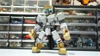 乐高MOC拼装《铁甲钢拳》Atom机甲机器人积木
