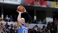 【NBA热点】阿龙-戈登赛后接受采访,询问篮网是否赢球