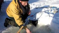 冰钓之大丰收好多鳟鱼